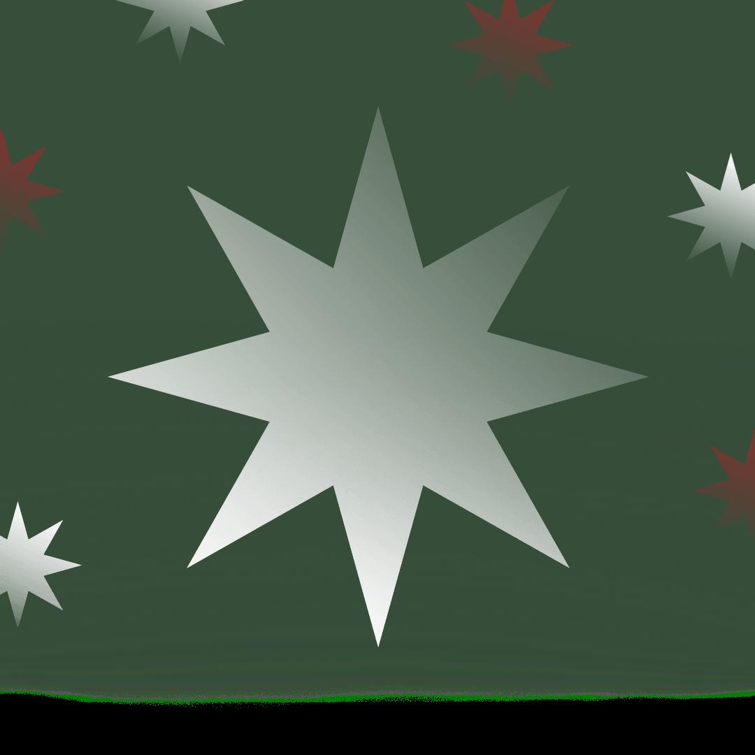 'n Kersfees ster