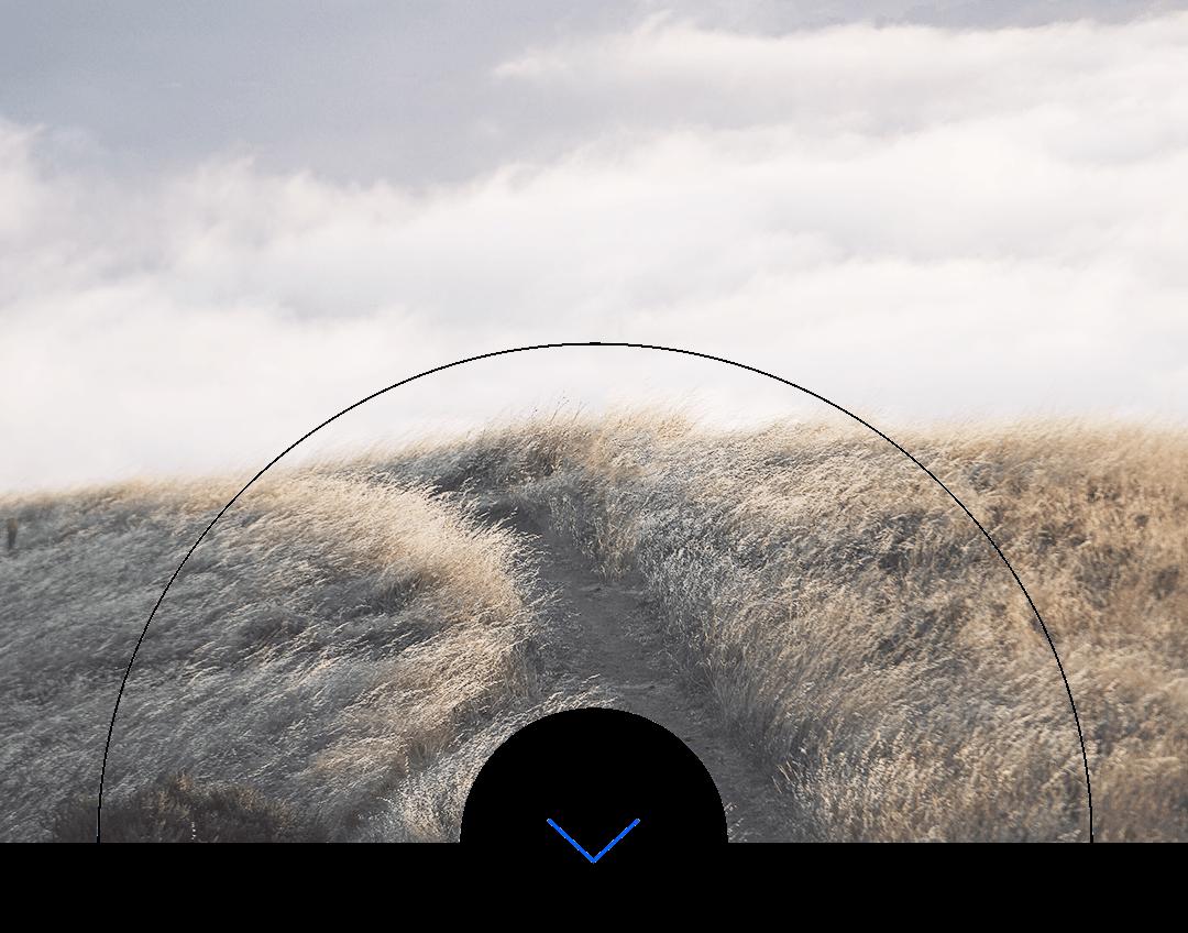 Bukit tertutup rumput