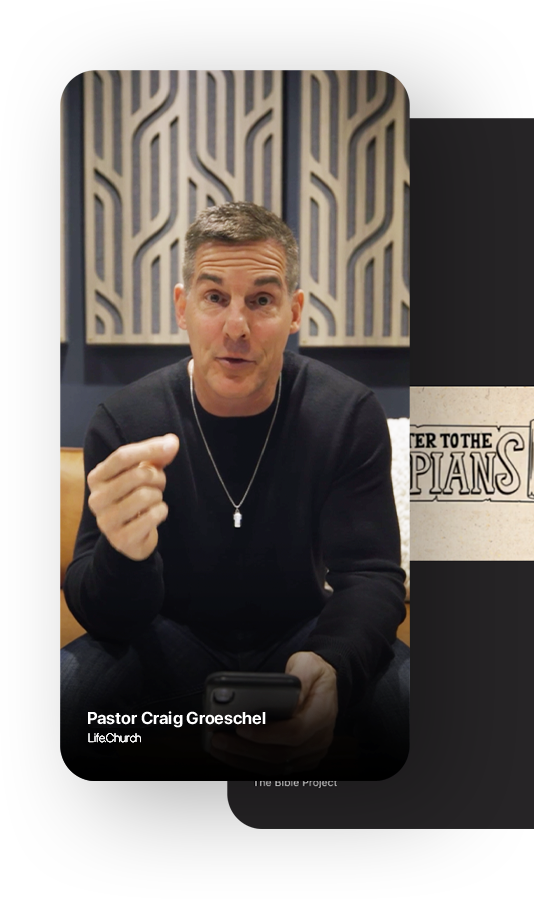 Video of Pastor Craig Groeschel