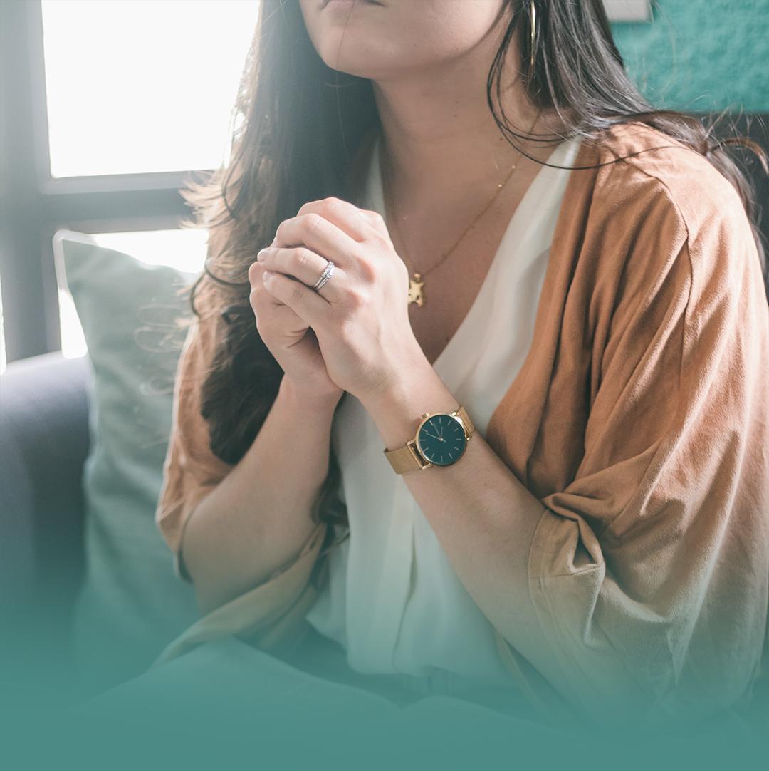 기도하는 여자