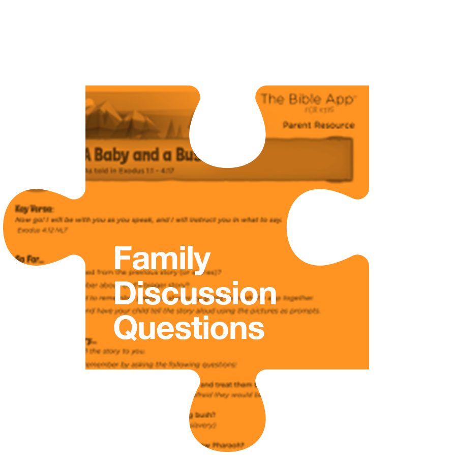 Family Discussion Questions