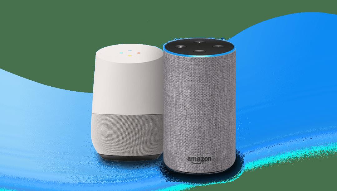 Google Home Mini y Amazon Echo