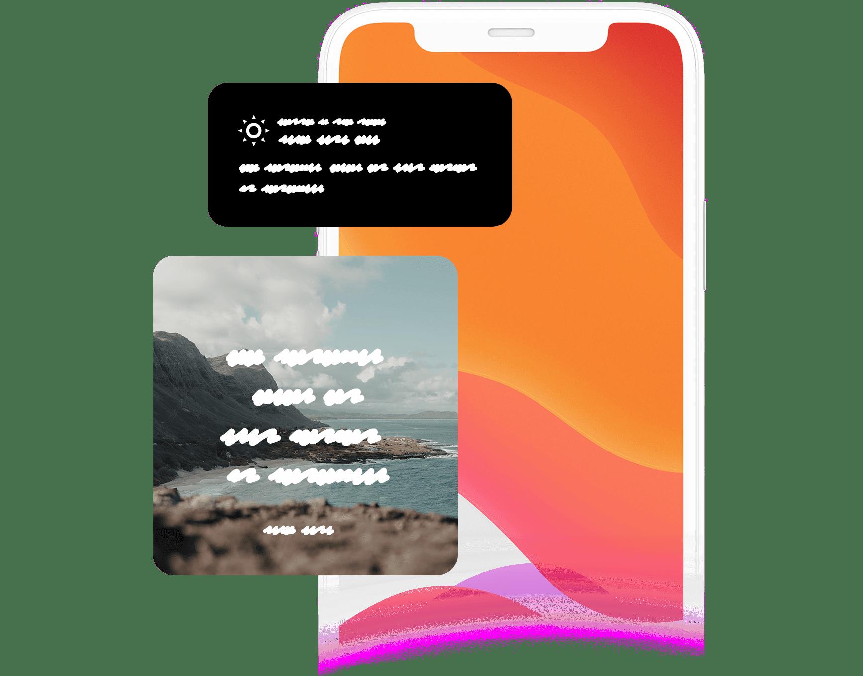 Widgets de Versículo del Día de iOS 14